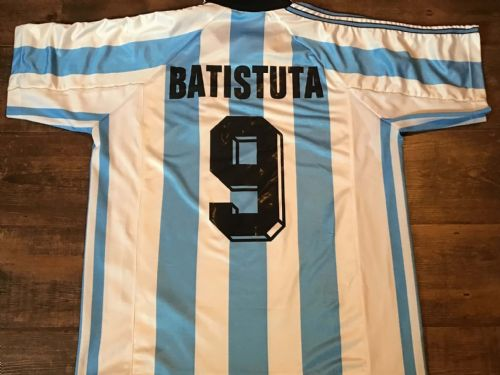 1998 Argentina Batistuta Football Shirt Large